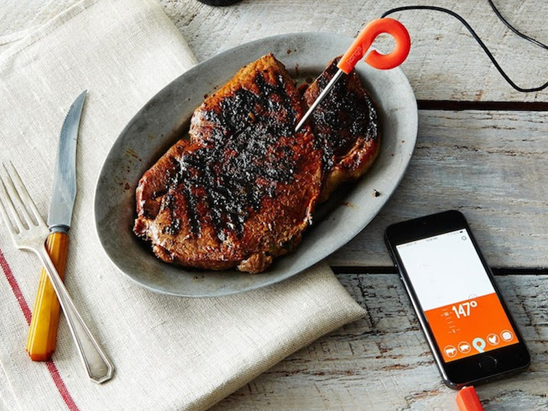 Range Smart Cooking Thermometer